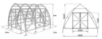 Fermer 4.6  papildoma sekcija 9,96m2 6mm