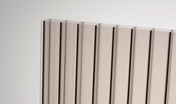 Kanalinis polikarbonatas 16mm bronza 2100x6000