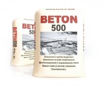 Sausas betonas BETON 500 - 40kg maišas