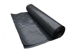 Plėvelė  6*120m 100mkr juoda / bėginis metras