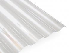 PVC lakštas banguotas skaidrusvnt