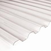 PVC lakštas trapecinis skaidrusvnt