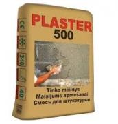 PLASTER 500 tinko mišinys daugiasluoksnis - 40 kg maišas