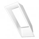 Angokraščių apdaila XLW-F mediniams langams (baltos spalvos)