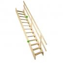 Fakro stacionarūs mediniai laiptai