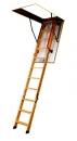 Fakro sudedami segmentiniai palėpėslaiptai su medinėmis kopėčiomis