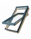 Fakro apverčiamas medinis stogo langas