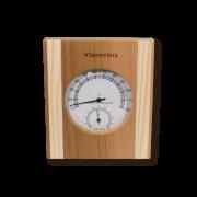 Termometras pirties su drėgmėmačiu