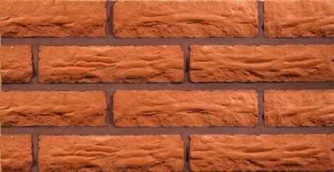 Raudona, antikinė-skaldyta keraminės plytos kaina