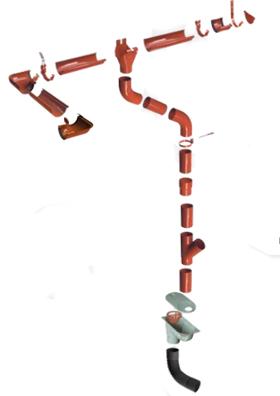 Plieninė Lietaus Nuvedimo Sistema Flamingo Kaina