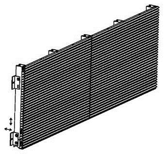 Aliuminio tvirtos gamykliškai surinktos žaliuzės PS-P Kaina