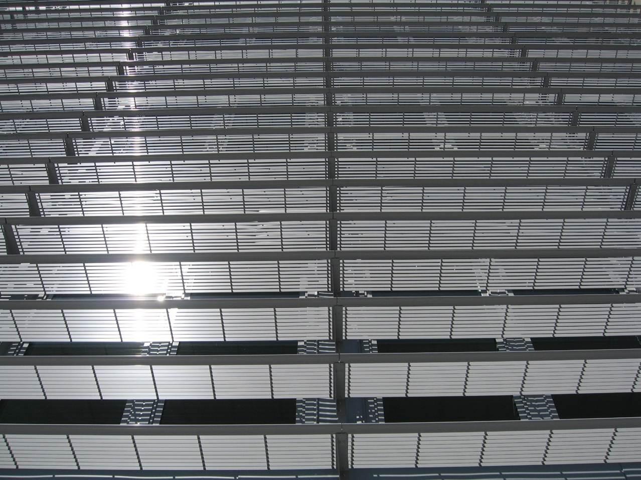 Aliuminio žaliuzių stogeliai Kaina