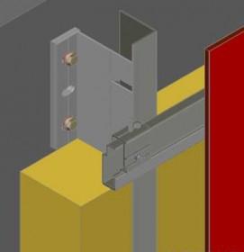 Paslėpto tvirtinimo mechaniniu būdu sistemos kaina