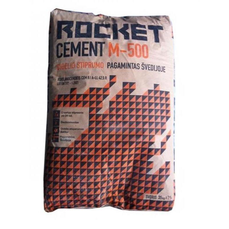 Švediškas Cementas Rocket Kaina Vilniuje