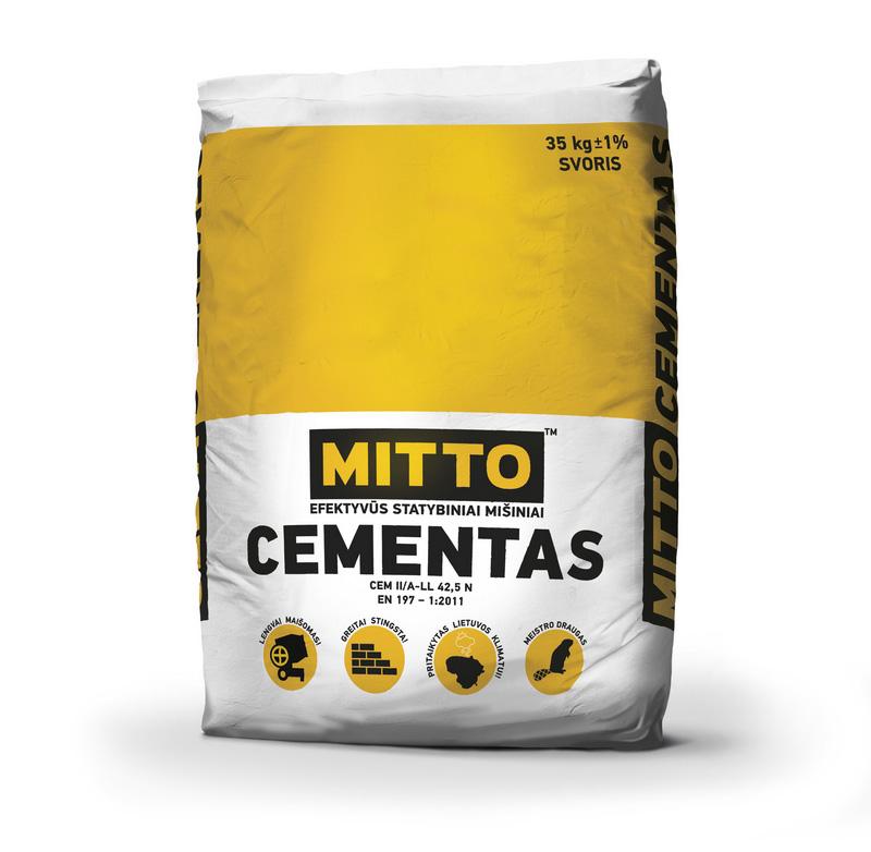 Cementas PORTLAND D500 (35 kg)
