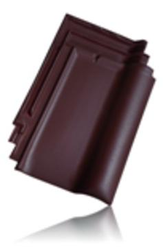 Wienerberger L15 užkaitinė čerpė kaina, tamsiai ruda angoba kaina / Kunice