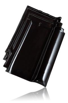 Wienerberger L15 užkaitinė čerpė kaina, juoda blizgi angoba kaina / Kunice