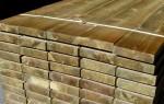Impregnuota mediena Kaina 3