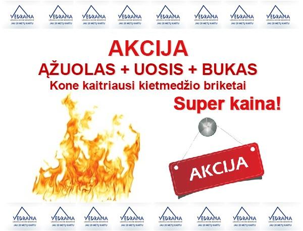 Ąžuolo Briketai Super Kaina Vilniuje Akcija Išpardavimas