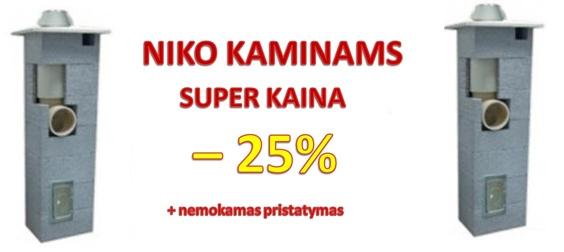 Pigūs Niko Kaminai Super Kaina, Dumtraukių Kaminų Akciją