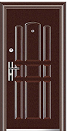 Lauko durys AQ 80 2 spynos