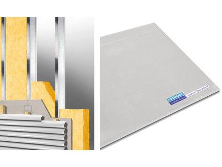 Aquapanel cement board outdoor climatshield 8 mm prie v jin cementin plok t knauf super kaina for Knauf aquapanel exterior cement board