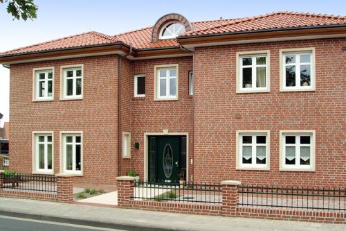 WIESMOOR Hellrot-bunt ROBEN GmbH vokiškas klinkeris Klinkerio plytos kaina